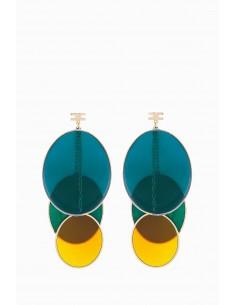 Boucles d'oreilles Elisabetta Franchi avec des ovales - OR11D87E2_050