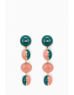 Boucles d'oreilles Elisabetta Franchi avec boules - OR25D87E2