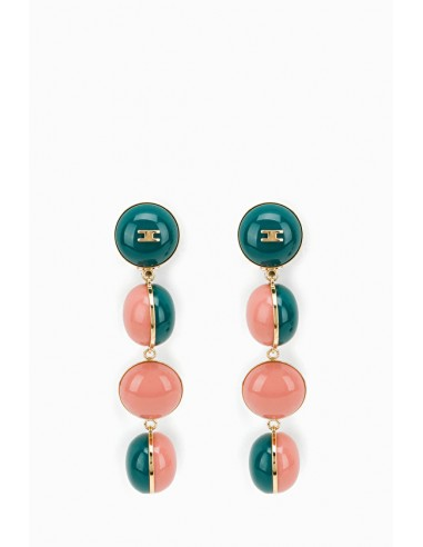 Elisabetta Franchi Earrings with balls - OR25D87E2
