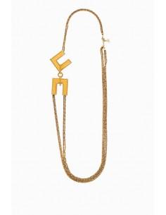Halskette mit Logo - Elisabetta Franchi - CO17D88E2