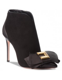 Botas de tornozelo com laço - Elisabetta Franchi - SA14F86E2