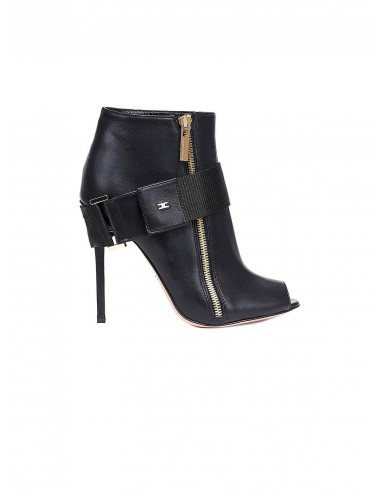 Low cut boots with open toes - Elisabetta Franchi - SA18F86E2