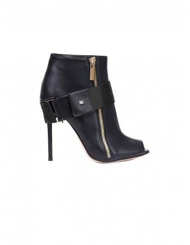 Low-Cut-Stiefel mit offenen Zehen - Elisabetta Franchi - SA18F86E2