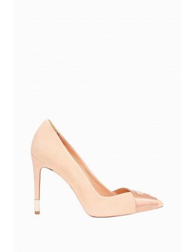 High heels with logo - Elisabetta Franchi - SA13F86E2
