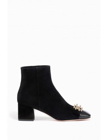 Ankle boots with logo - Elisabetta Franchi - SA02L86E2