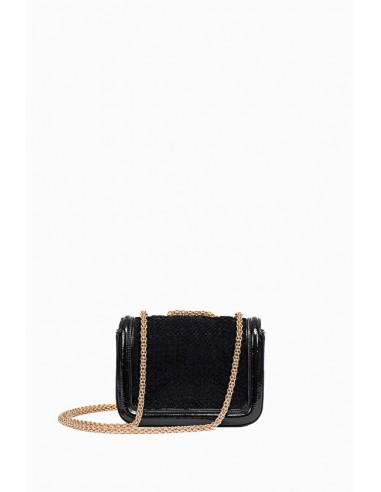 Mini-Bag with double shoulder strap - Elisabetta Franchi - BS55A87E2