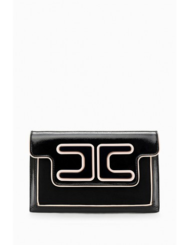Bolso do antebraço com logótipo - Elisabetta Franchi - BS77A88E2
