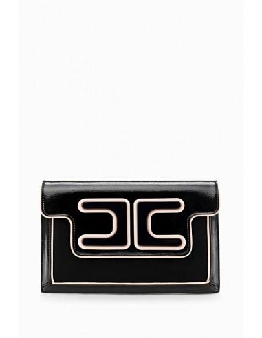 Onderarm zakje met logo - Elisabetta Franchi - BS77A88E2