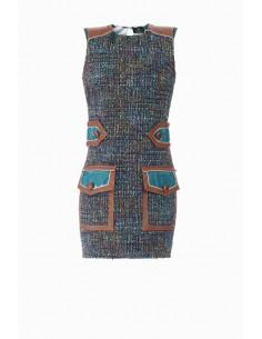 Mini vestido Bouclè - Elisabetta Franchi - AB52387E2