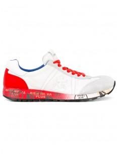 Premiata Sneakers in Weiß / Rot