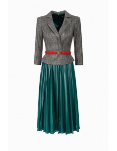 Dress with belt - Elisabetta Franchi - AB51088E2