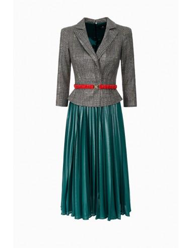 79aefad7e18 Robe avec ceinture - Elisabetta Franchi - AB51088E2
