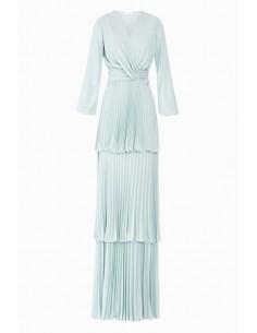 Long pleated dress - Elisabetta Franchi - AB59287E2