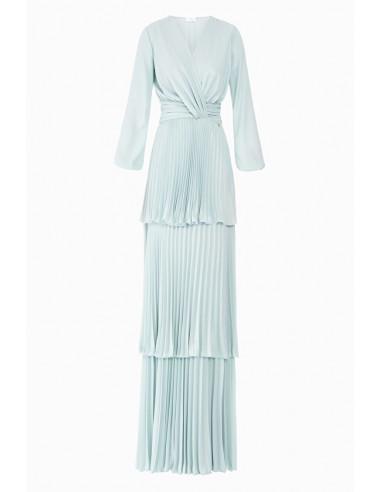 Lange geplooide jurk - Elisabetta Franchi - AB59287E2