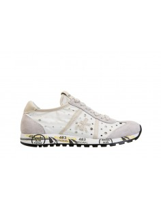 Premiata Sneakers in White / Gray