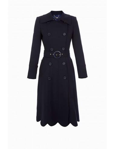 Coat met riem - Elisabetta Franchi - CP00986E2