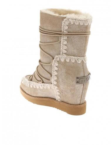 MOU Französische Eskimo Stiefel mit Schnürung altamoda.shop
