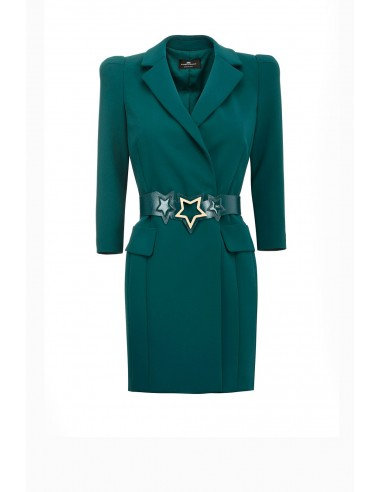 Vestido com cinto - Elisabetta Franchi - AB71791E2