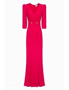 Long dress with buttons - Elisabetta Franchi - AB72291E2