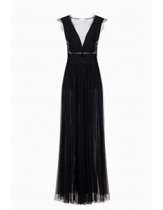 Long tulle dress - Elisabetta Franchi - AB74692E2