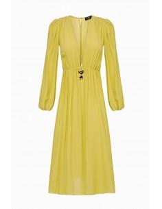 Dress with pendant Cherie - Elisabetta Franchi - AB83192E2