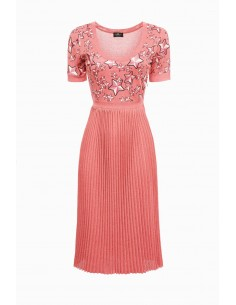 Knitted Dress Star-Print
