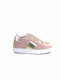 Stokton Sneakers en Python patrón rosa