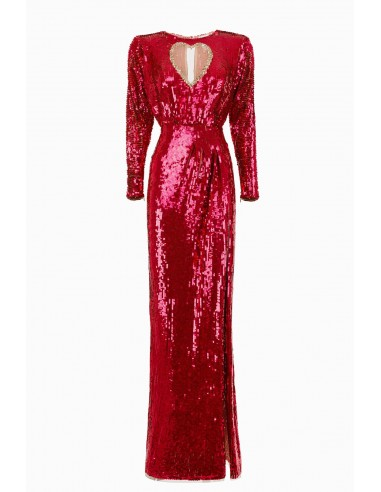 Geborduurde jurk met hartje - Elisabetta Franchi - AR13M92E2