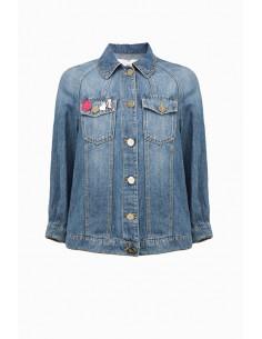 Jeans-Jacke - Elisabetta Franchi - BJ01M91E2