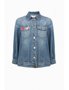 Jeans Jacket - Elisabetta Franchi - BJ01M91E2