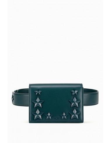 Bolsa de cintura com estrelas - Elisabetta Franchi - BM25A91E2