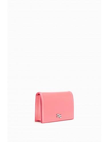 Bolsa de ombro com pingentes de charme - Elisabetta Franchi - BS15A91E2