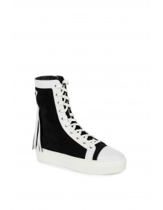 High sneakers with fringes - Elisabetta Franchi - sa10s76e2_110