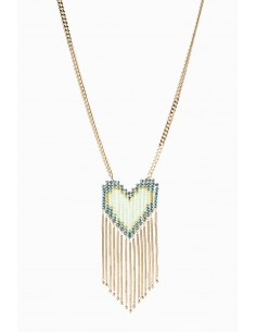 Long necklace with heart - Elisabetta Franchi - CO05F92E2