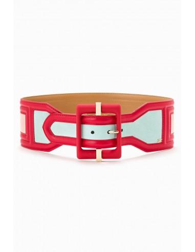Belt with maxi buckle - Elisabetta Franchi - CT24S92E2