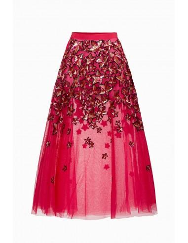 9f784818de Falda de tul bordada - Elisabetta Franchi - GO17391E2