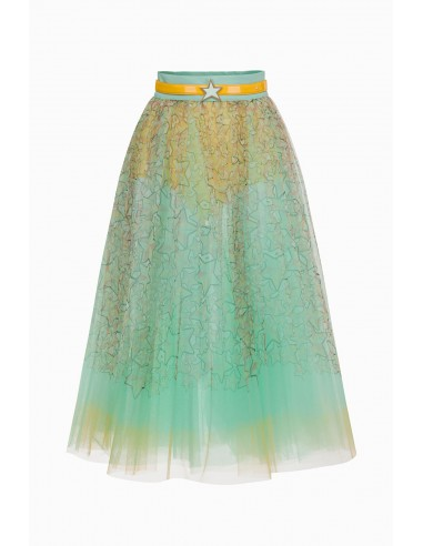Tulle skirt with belt - Elisabetta Franchi - GO17791E2
