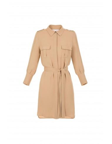 Shirt dress with belt - Elisabetta Franchi