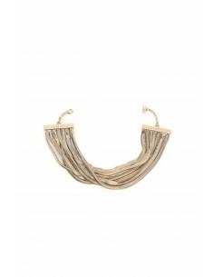 Halsketting in goudkleurig metaal - Elisabetta Franchi - co06v77e2_610