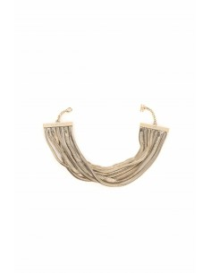 Necklace in golden metal - Elisabetta Franchi - co06v77e2_610