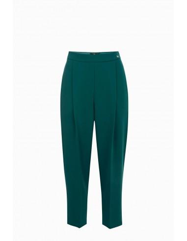 Palazzo-style stretch trousers - Elisabetta Franchi - PA25691E2