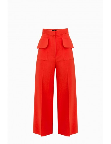 Trousers with pockets - Elisabetta Franchi - PA26391E2