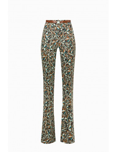 Trousers with star print - Elisabetta Franchi - PA26991E2