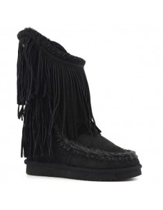 Mou Inner Wedge Tall Double Franges