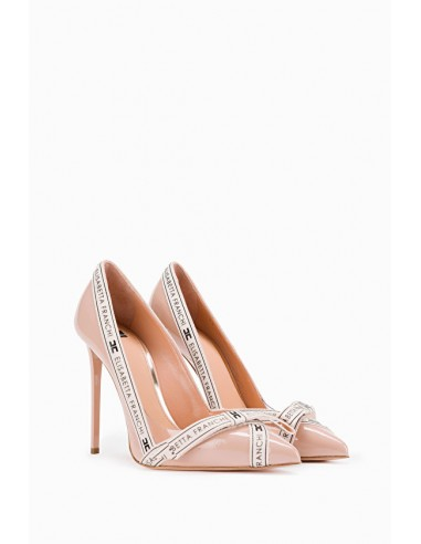 Pumps with Logo Bow