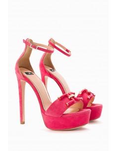 Sandale avec plateforme - Elisabetta Franchi - SA18F92E2