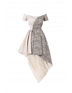 Asymmetrische mini-jurk - Elisabetta Franchi - ab12577e2_170