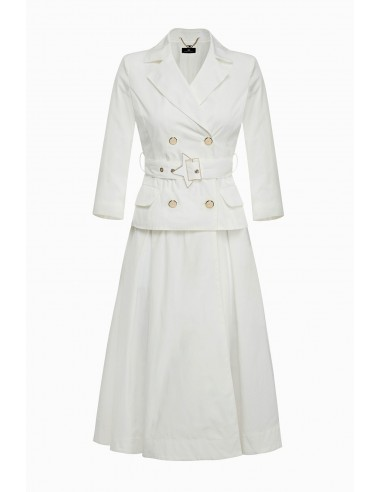 Jacket with Maxi star buckle - Elisabetta Franchi - SP06Z91E2