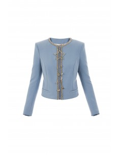 Elisabetta Franchi jacket with star pendant - gi01776e2_m44