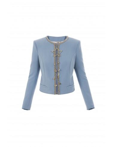 Elisabetta Franchi jacket with star pendant - gi01776e2_m44